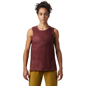 Mountain Hardwear Everyday Perfect Camiseta sin mangas fit Mujer, washed rock